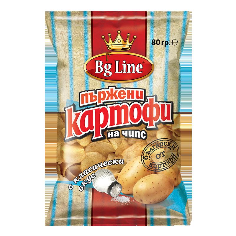 Пържени картофи с класически вкус
