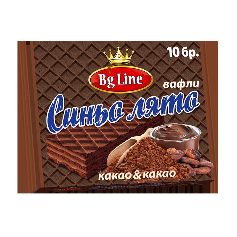 Вафли синьо лято Пакет какао и какао