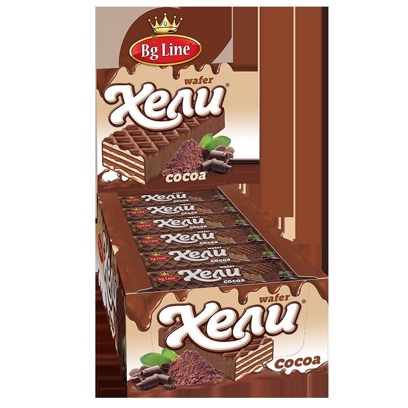 Вафли Хели какао