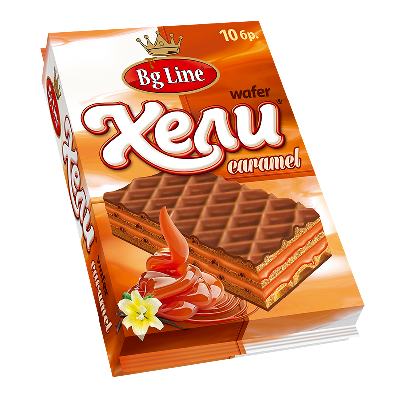 Wafer Hely Packet Caramel