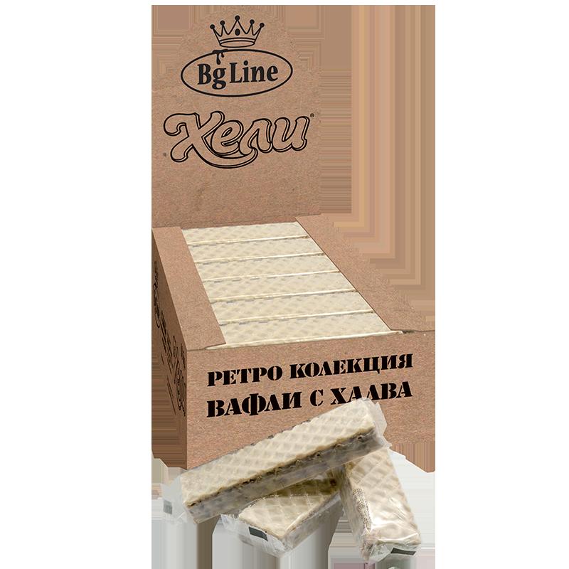 Ретро вафли Хели бял шоколад
