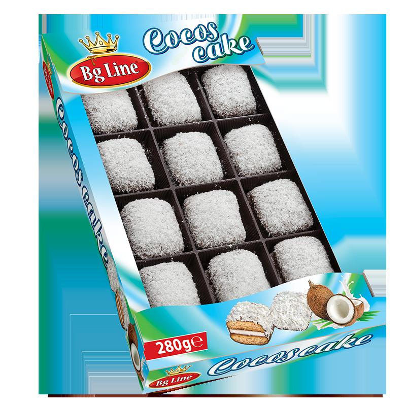 Mini cake Coconuts 280 gr