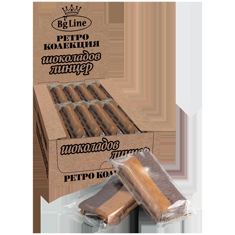Ретро Шоколадов Линцер BgLine