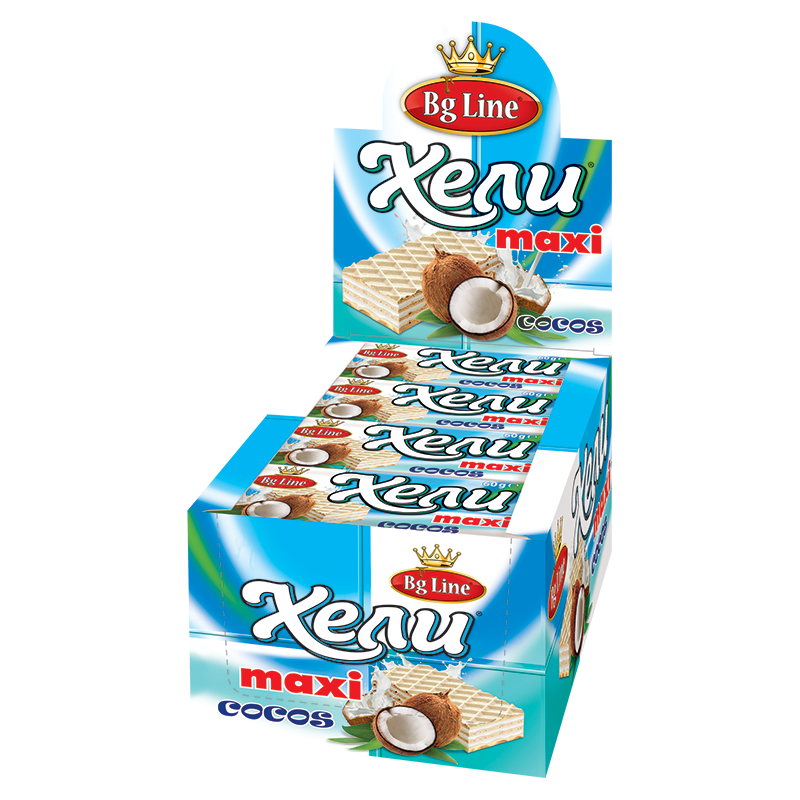 Wafer Hely MAXI Coconuts