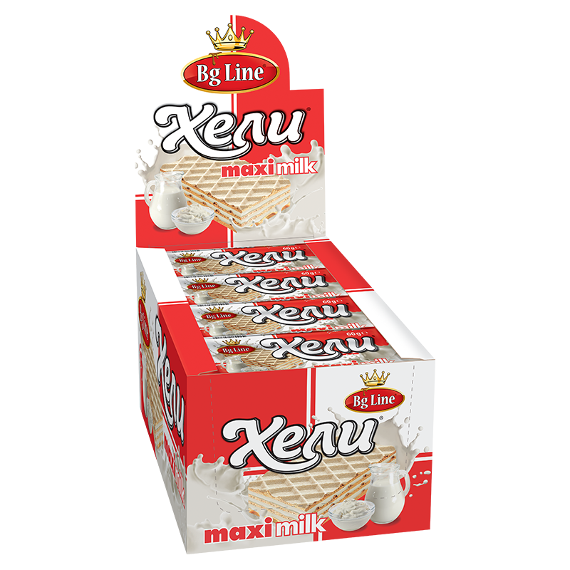 Wafer Hely MAXI Milk