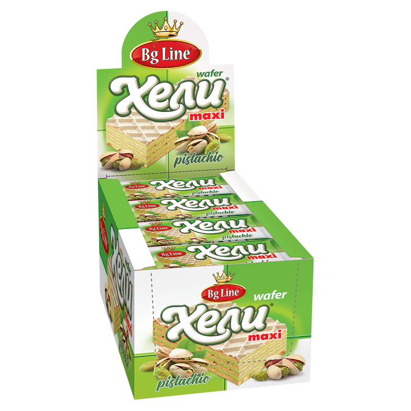 Wafer Hely MAXI Pistachio