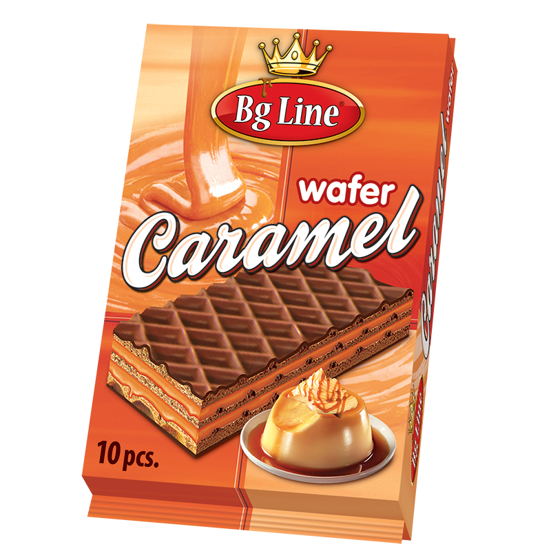 Wafer Bg Line Packet Caramel