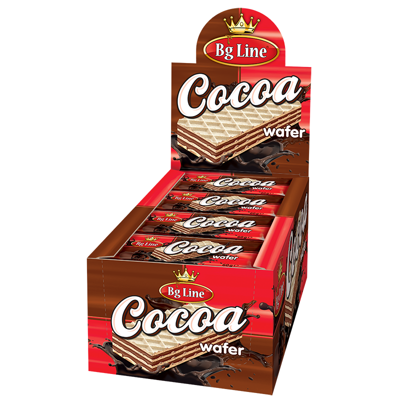 Wafer Bg Line Cocoa