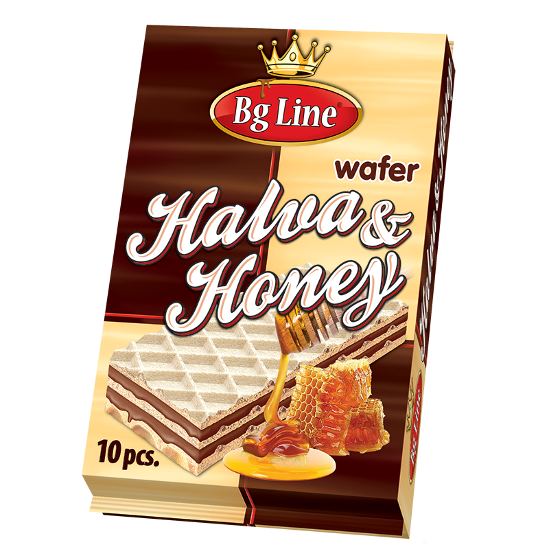 Wafer Bg Line Packet Halva and honey